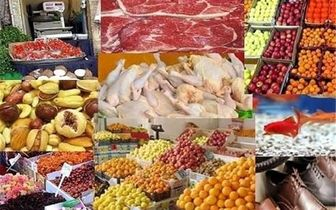 مواد غذایی چند درصد گران شده است؟