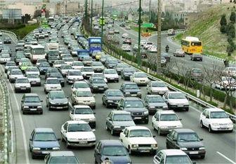وضعیت راههای کشور در ۳۱ شهریور ماه/ کاهش ۲.۲ درصدی تردد در محورهای برونشهری