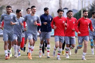 ترکیب اصلی تیم ملی امید ایران مقابل کره جنوبی