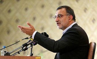 انصراف زاکانی از کاندیداتوری ریاست مجلس+عکس