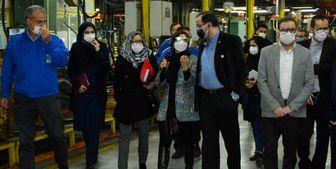 کیفیت و فناوری در تولید ایرانخودرو مشهود است