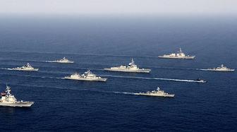 رزمایش مشترک دریایی قطر با آمریکا