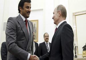 دعوت رسمی پوتین از امیر قطر