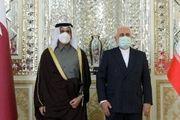 گفتوگو ظریف و همتای قطری در تهران