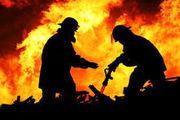 آتش در پاساژ پایتخت