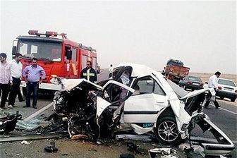 ۵ کشته و ۱۰ مجروح در پی تصادفات شب گذشته