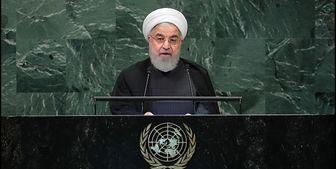 روحانی در سازمان ملل: پاسخ ما به مذاکره تحت تحریم «نه» خواهد بود