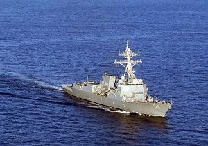 شلیک هشدار نیروی دریایی آمریکا به قایق های ایرانی