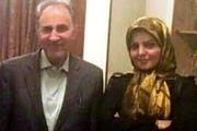 نجفی دقایقی پس از قتل همسرش/ عکس