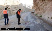 ایمنسازی 150 کیلومتر راه روستایی در فامنین