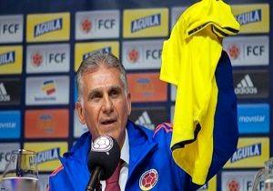 روش خارج از عُرف کی روش برای معرفی بازیکنان تیم ملی کلمبیا