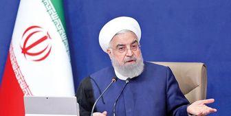 روحانی: اگر ترامپ نبود مردم می دیدند خدمات 8ساله دولت چقدر مهم است