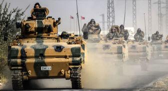 ارتش ترکیه به دنبال عملیات نظامی در سوریه