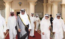 تلاش امیر کویت برای ریش سفیدی