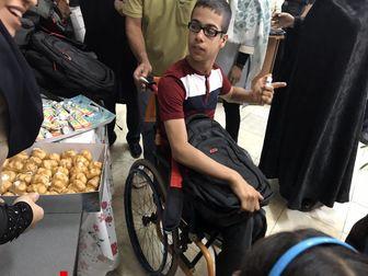 اهدای لوازم التحریر به دانش آموزان معلول محروم پایتخت