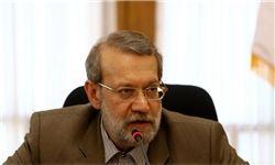 نطق دانشجویی لاریجانی در مجلس