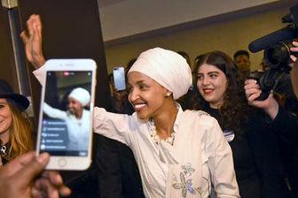 اولین زن محجبه در مجلس نمایندگان آمریکا+تصاویر