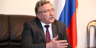 اولیانوف: برای تکمیل توافق به چند هفته دیگر زمان نیاز است