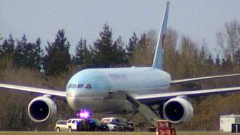 فرود اضطراری هواپیمای انگلیسی در کانادا