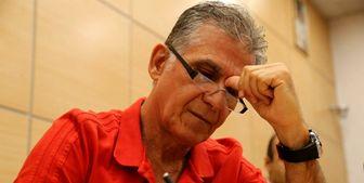 پیام کیروش به مناسبت صدمین پیروزی تیم ملی فوتبال