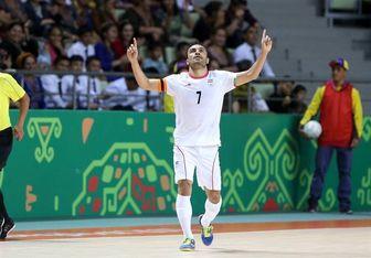 حسنزاده نامزد بهترین بازیکن فوتسال آسیا شد