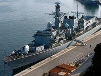 نمایشگاه تسلیحاتی انگلیس در آبهای لیبی