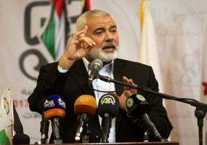 هنیه: از قدس و فلسطین با باروت و گلوله دفاع میکنیم