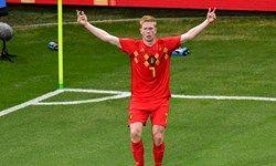اعلام بهترین بازیکن بازی بلژیک و برزیل