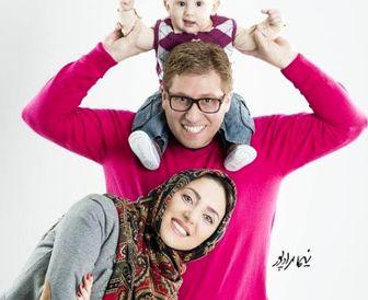 قربون صدقه های «راما قویدل» برای همسرِ بازیگرش/ عکس