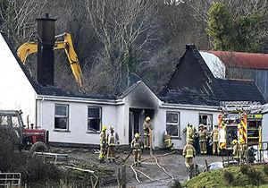 مرگ سه نفر بر اثر آتشسوزی در ایرلند شمالی