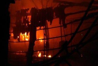 علت آتش سوزی بازار تبریز مشخص شد