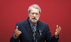لاریجانی: تلاش می کنیم فشارها بر اقتصاد کشور را کاهش دهیم