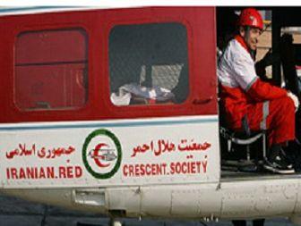 عملیات امداد هوایی در نجات مادر باردار