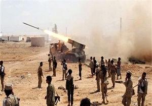 حمله موشکی یمنی ها به متجاوزان سعودی