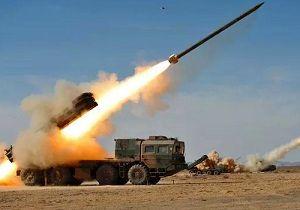 شلیک ۵۰ موشک به سمت مواضع داعش