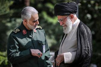 سردار سلیمانی خطاب به علما و مراجع: من آیتالله خامنهای را خیلی مظلوم و تنها میبینم