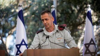 رئیس ستاد مشترک ارتش رژیم صهیونیستی در یک قدمی به کرونا