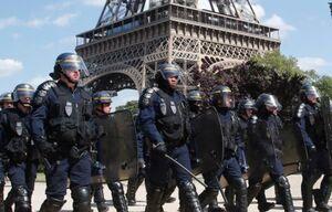 پلیس فرانسه تجمع روز شنبه مخالفان دولت را ممنوع اعلام کرد