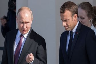 سفر تابستانی ماکرون به روسیه