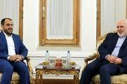 رایزنی وزیر  امور خارجه با محمد عبدالسلام در مسقط