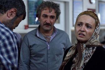 ضجه های گلاره عباسی و هدایت هاشمی/ عکس