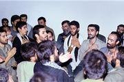 رهبر معظم انقلاب در کنار لشکر خوبان + عکس