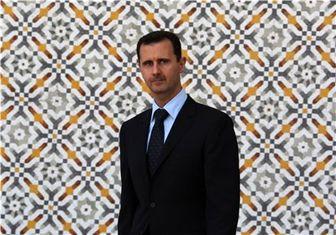 بشار اسد در جشن میلاد پیامبر اسلام(ص)