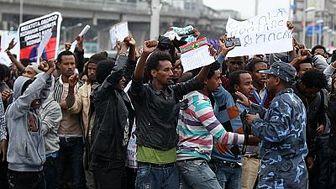 مردم صعده علیه عربستان به خیابان ها ریختند