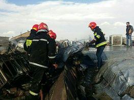 آتشسوزی بازار ارومیه مهار شد/ عکس