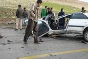 فوت بیش از 14 هزار نفر بر ا ثر تصادفات جادهای و شهری در سالجاری