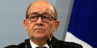درخواست عجیب وزیر خارجه فرانسه از ظریف
