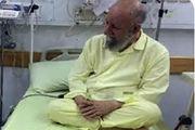 دیدار نماینده رهبرمعظم انقلاب با آیت الله نورمفیدی در بیمارستان