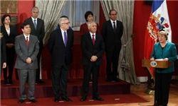 رئیسجمهور شیلی ۹ نفر از اعضای کابینه خود را برکنار کرد