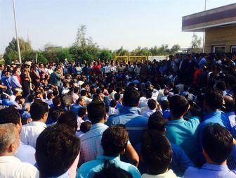 تجمع کارگران آلومینیوم المهدی به روز دوم کشیده شد